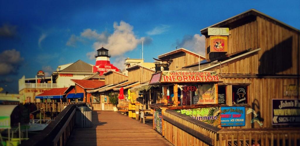 Boardwalk - Accross the street