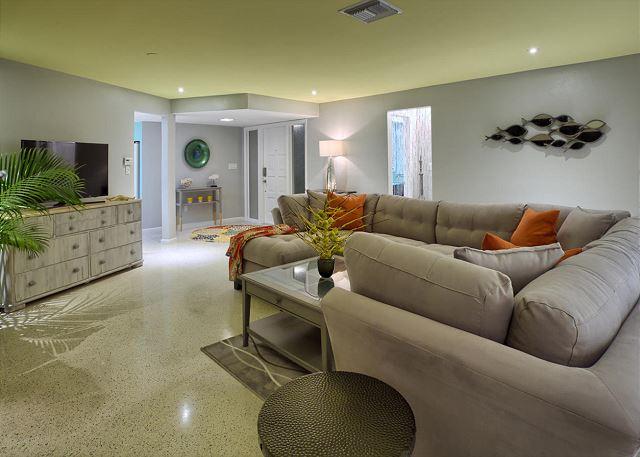 Comfy main living area