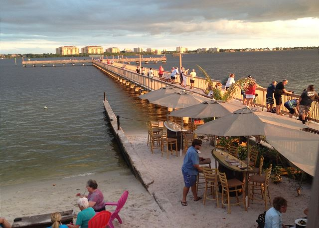 The Boathouse Tiki Bar and Grill located less than 2 miles away