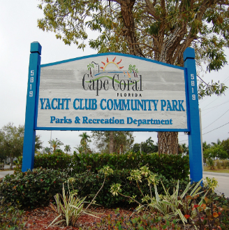 Cape Coral Yacht Club and Public Beach