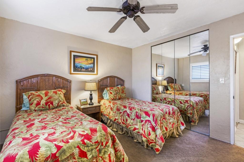 Second bedroom with big closet