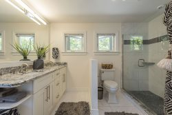 Gorgeous Bathroom, Open and Spacious -- Ceiling to Floor Tile -- Naples Luxury