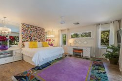 Huge Master Bedroom at The Beach House -- Space for Morning Yoga, Enjoy the Scenery and Relax!
