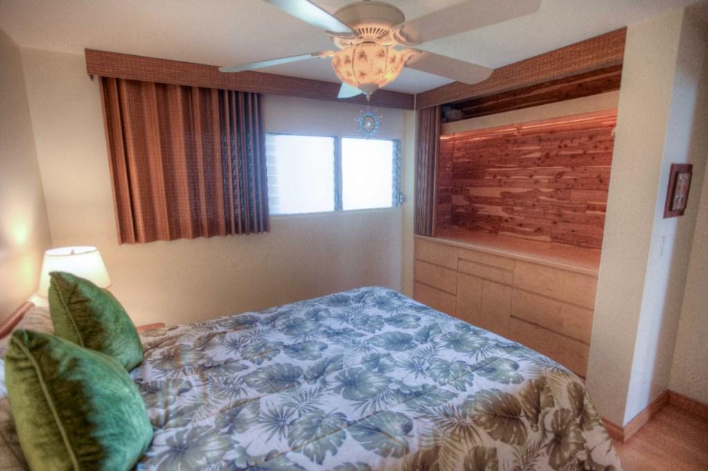 Built-In Dresser & Closet Space