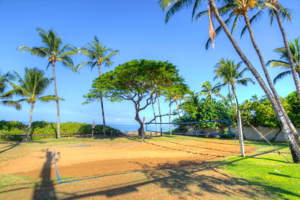 Volleyball at Kamaole Beach I Park