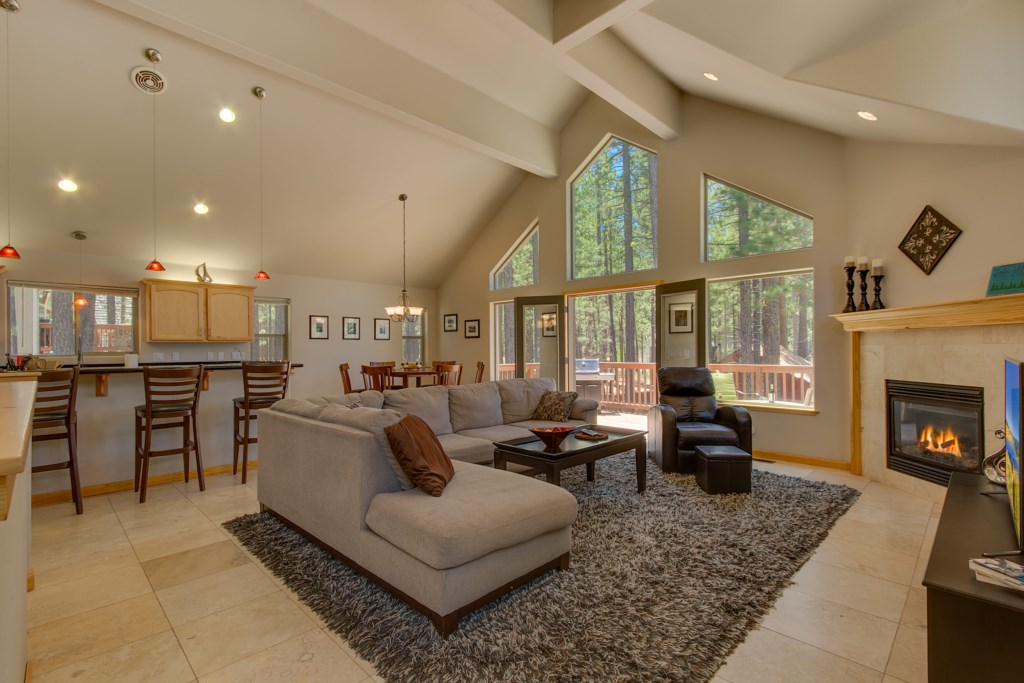 Plenty of room for the entire family to get cozy for a movie or game night