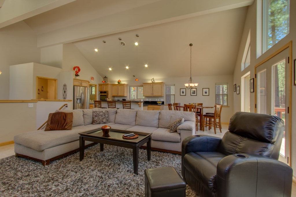 Great house for families offering open concept living
