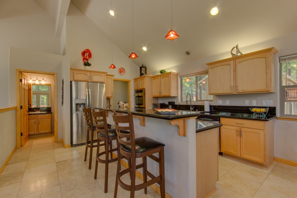 Enjoy the easy flow of conversation in your open Kitchen/Dining with bar seating