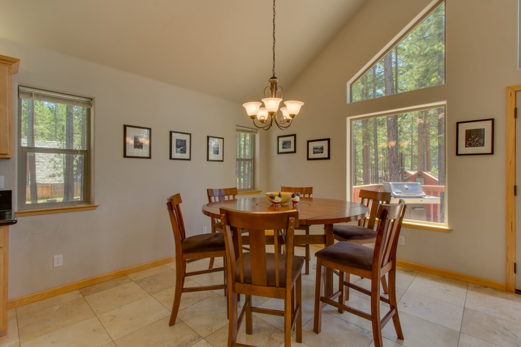 The Dining is open to the Kitchen to allow for large gatherings