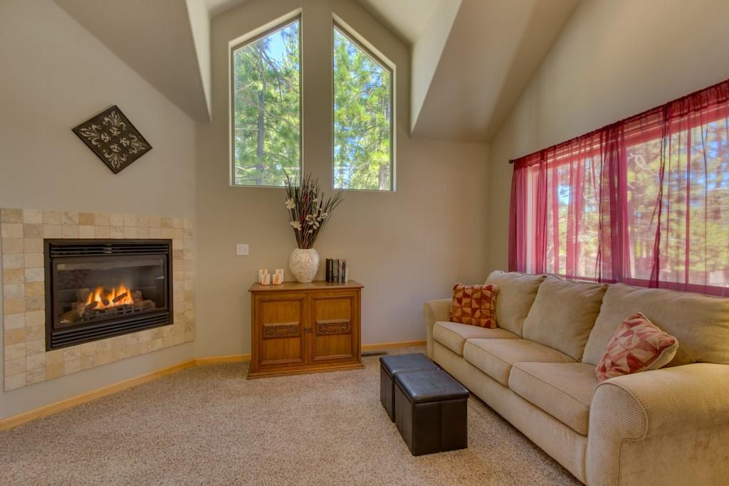 Loft Sitting area with TV