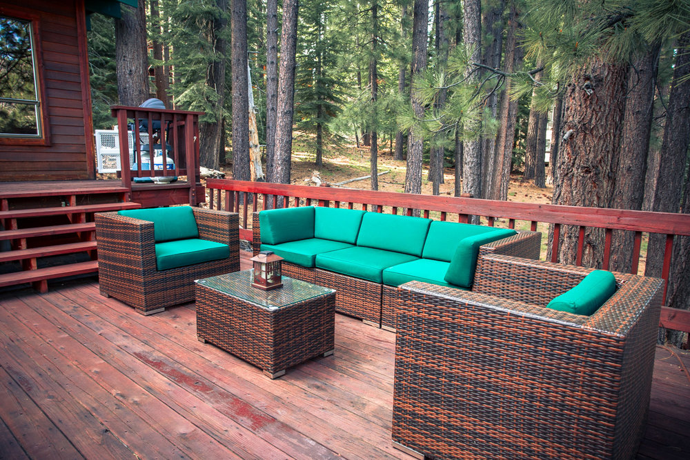 Enjoy the breathtaking views from your comfortable patio seating