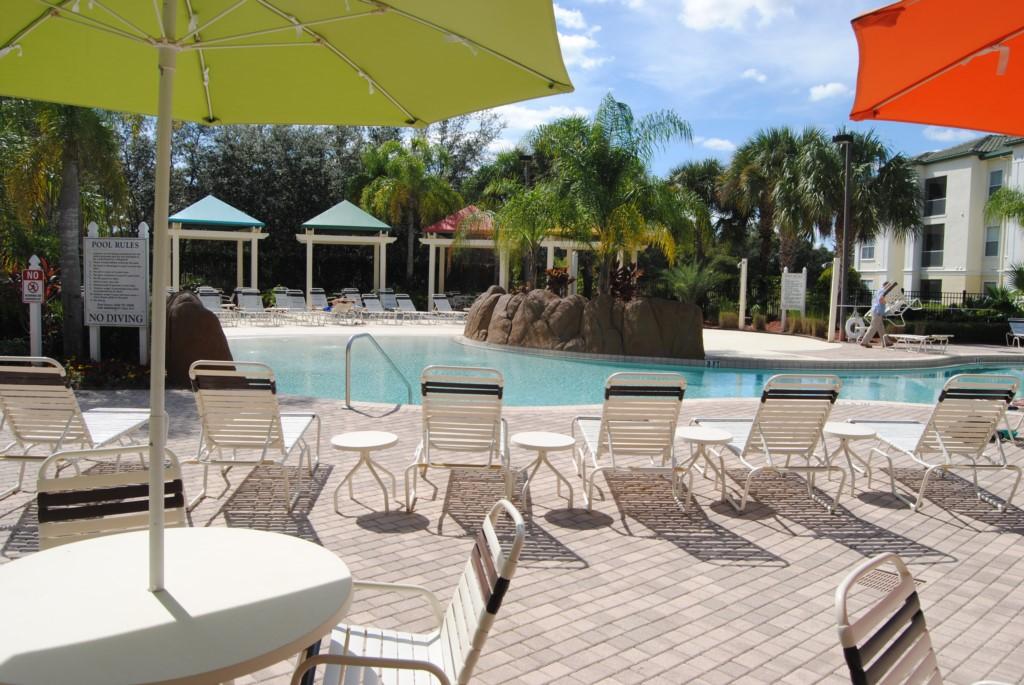 Resort swiiming pool