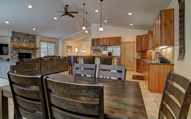 Enjoy the open concept ideal for large gatherings