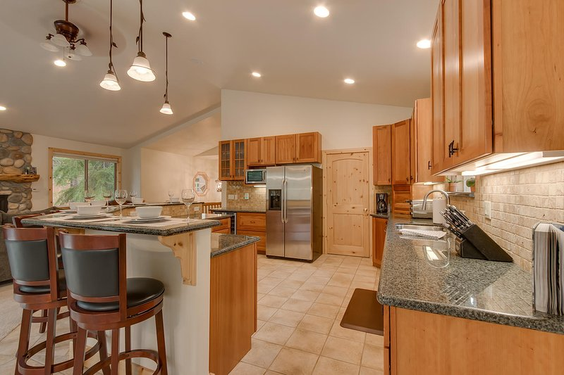 Spacious place to cook and entertain