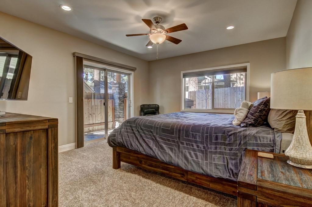 Queen Bedroom with yard access
