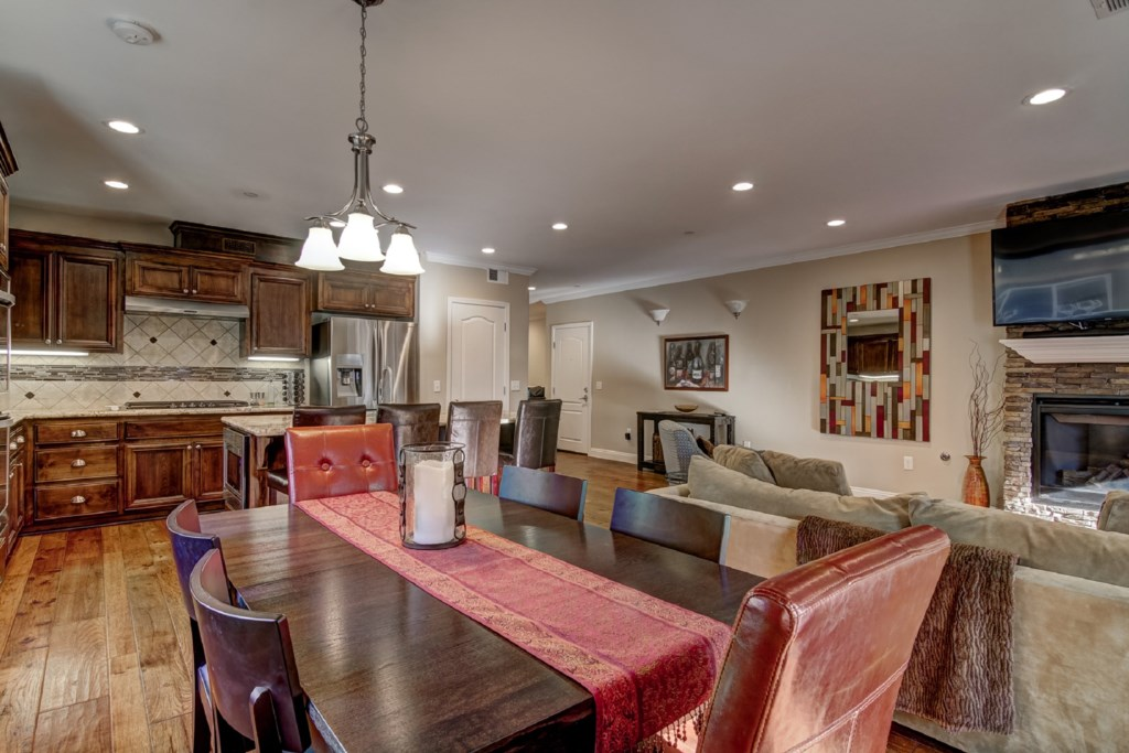 Enjoy the easy flow between the Kitchen and Dining
