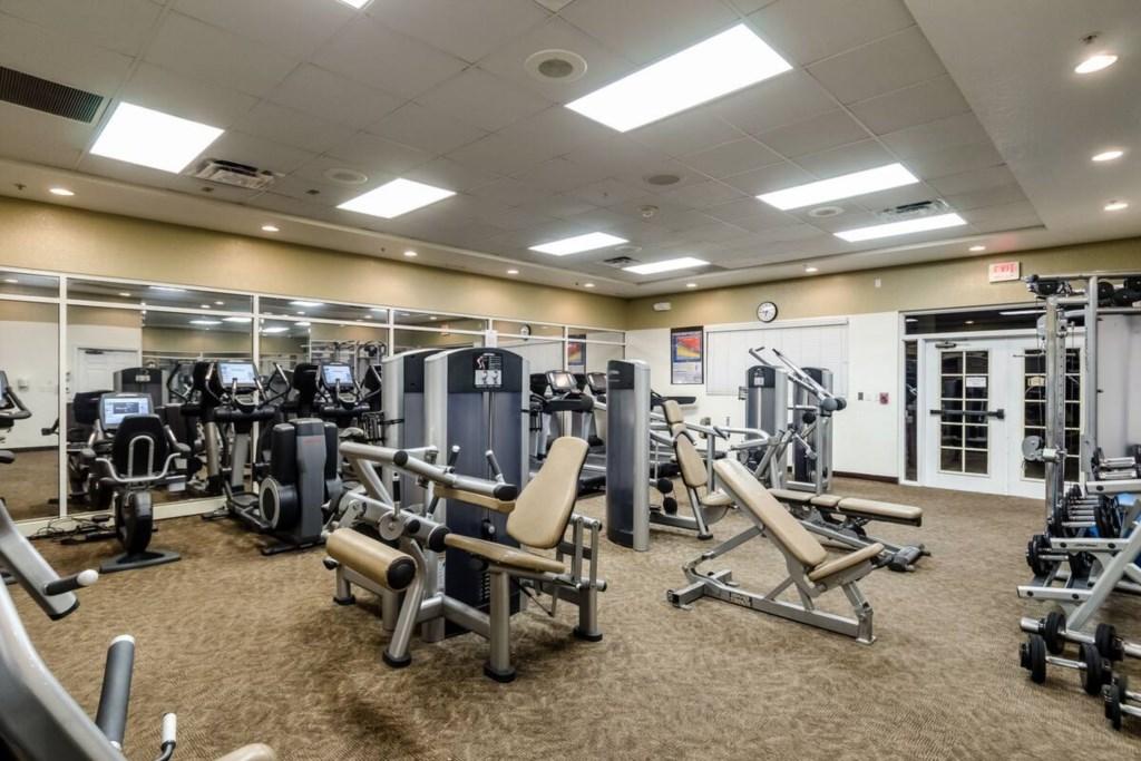 Fitness Center at Reunion Resort