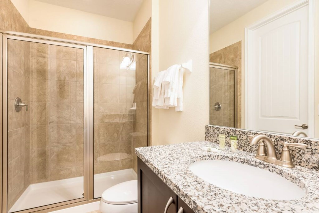 Double On Suite Bathroom - stall shower, second floor
