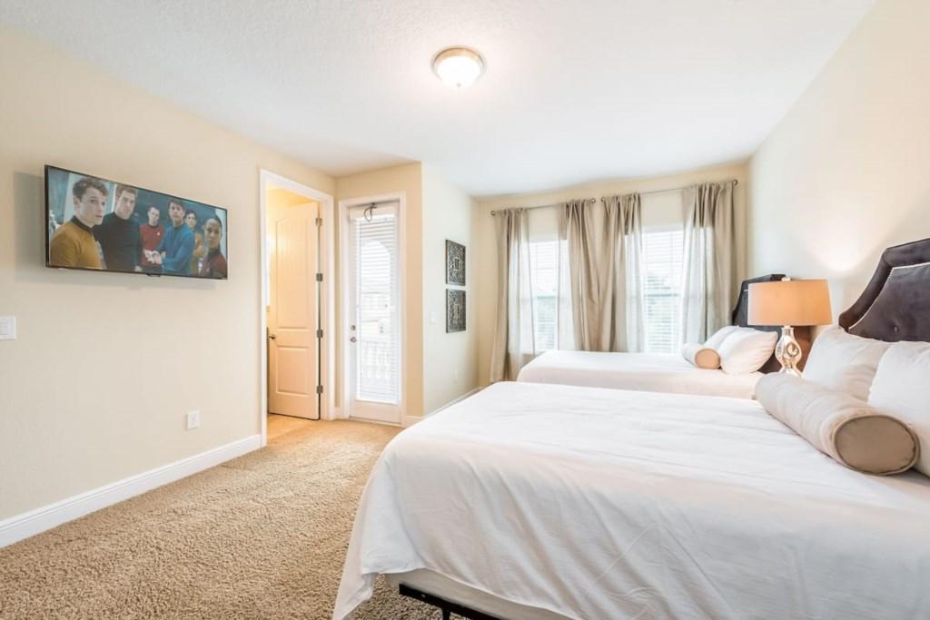 Double On Suite, nearest the loft, second floor, 42