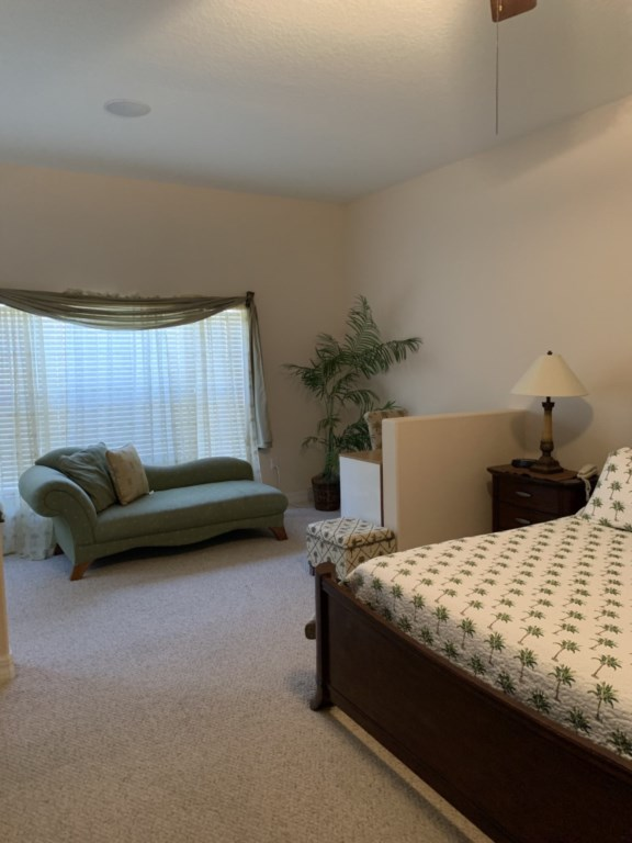 View 2 of lovely queen size bed with flat screen TV