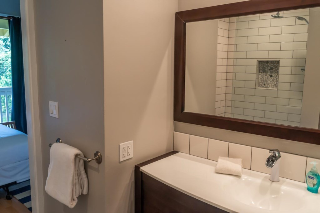 Two Bathrooms and Two Bedrooms