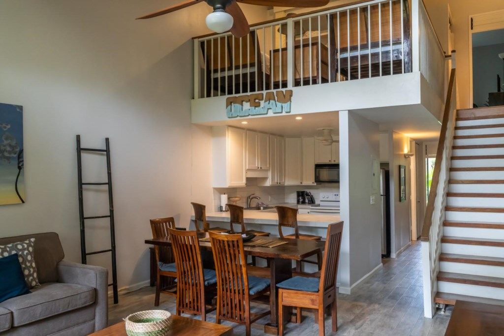 Open Floor Plan Great for Family Time