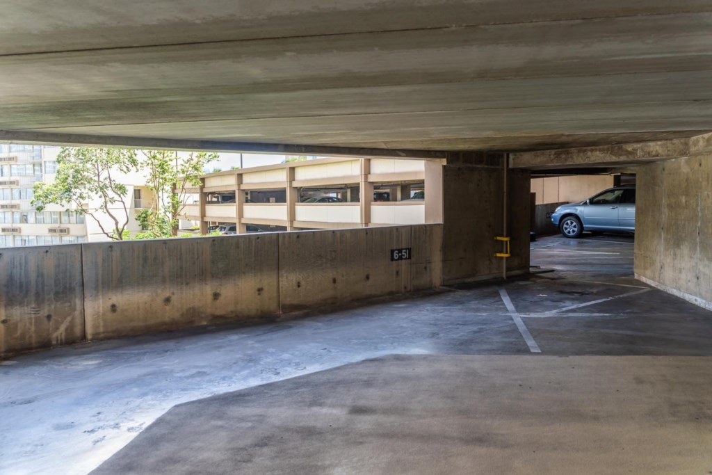 Large Covered Parking Stall