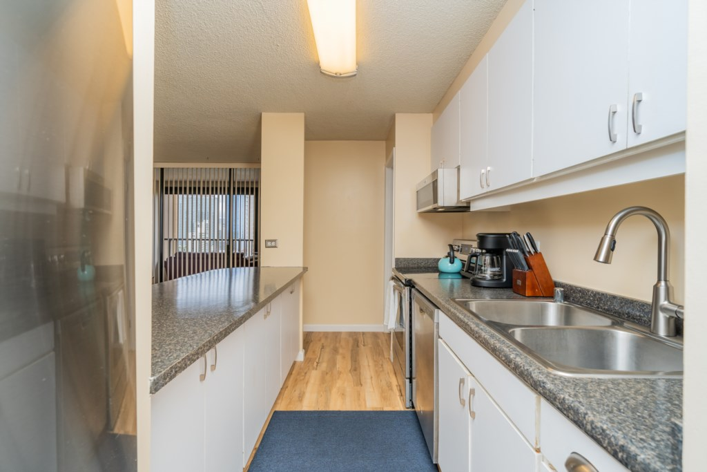 Kitchen Ready for Your Stay!