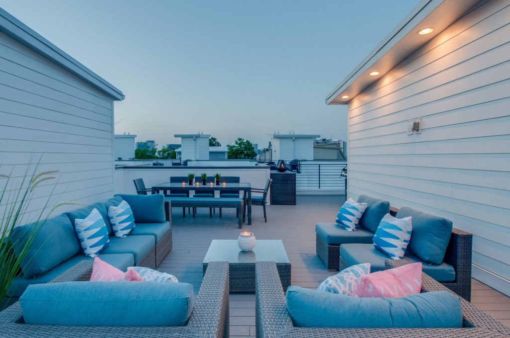 Relax and enjoy your private rooftop deck!