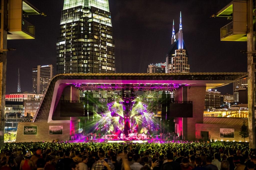 Ascend Amphitheater. Courtesy of Nashville Convention & Visitors Corp.
