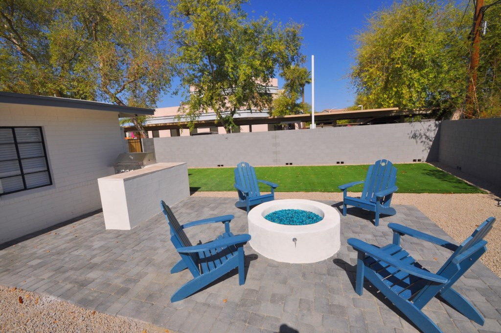 Brand new outdoor amenities including fire pit, BBQ grill and private pool!