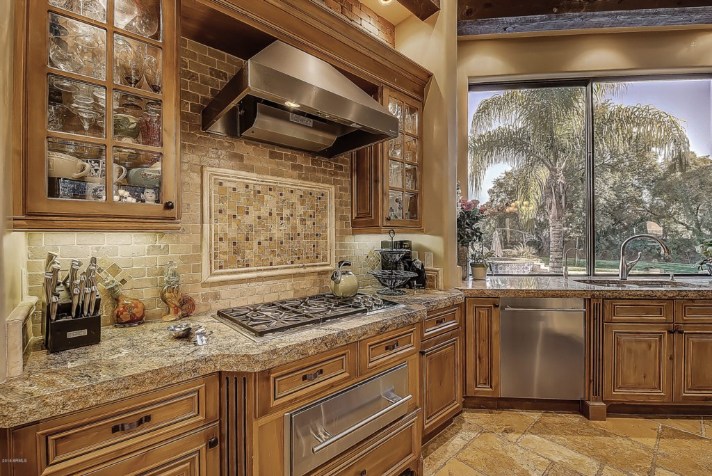 Kitchen-Counter-and-Stove