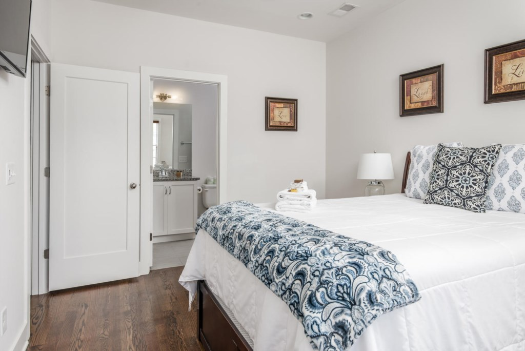You will find your rental spotlessly clean with GoodNight Stay's professional housekeeping team.