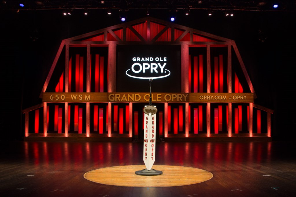 Grand Ole Opry. Courtesy of Nashville Convention & Visitors Corp.