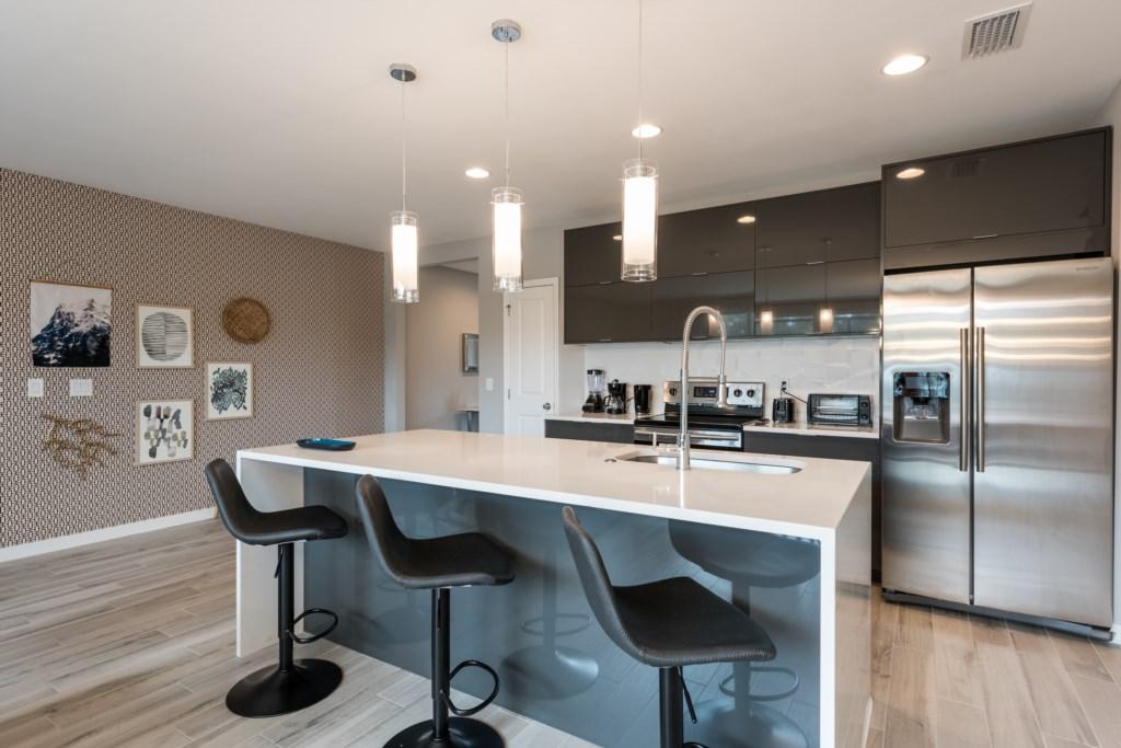 Modern New 4 Bed Villa 15 Mins to Disney LRT4 4439