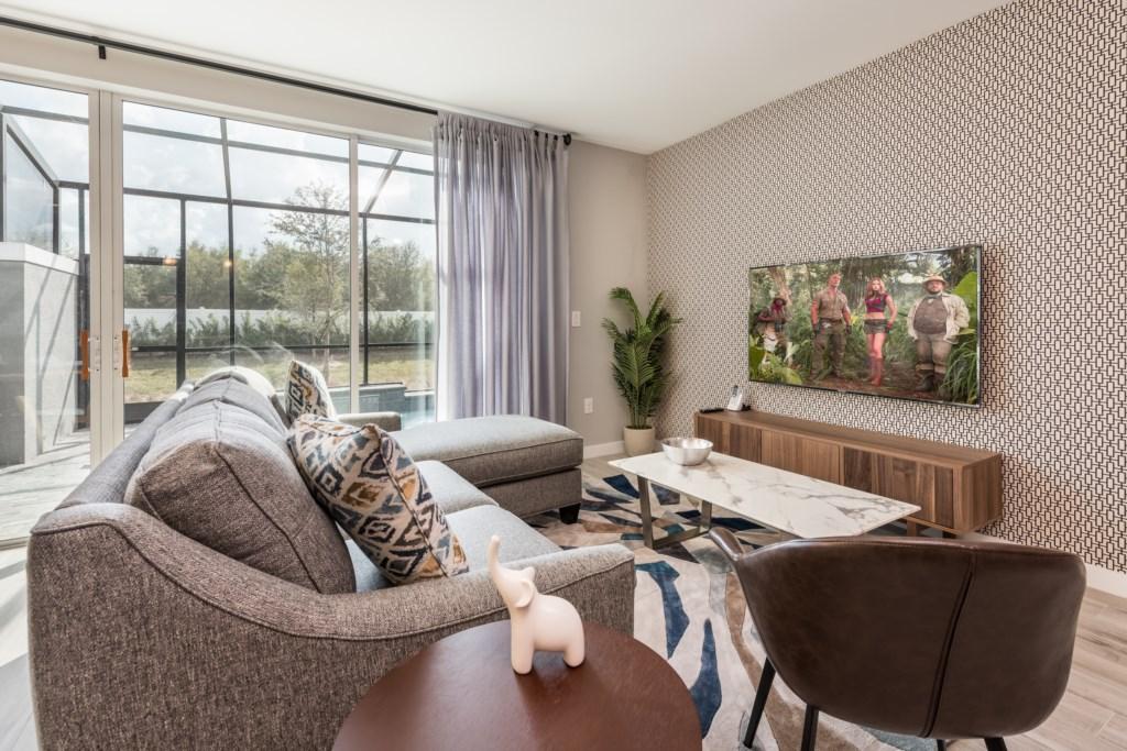 Modern New 4 Bed Villa 15 Mins to Disney LRT4 4441