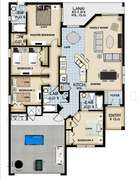 Floor plan for 4 bed vacation home