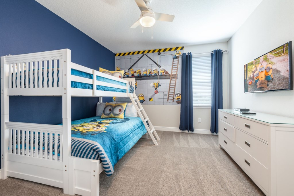 MinionsThemedBedroom