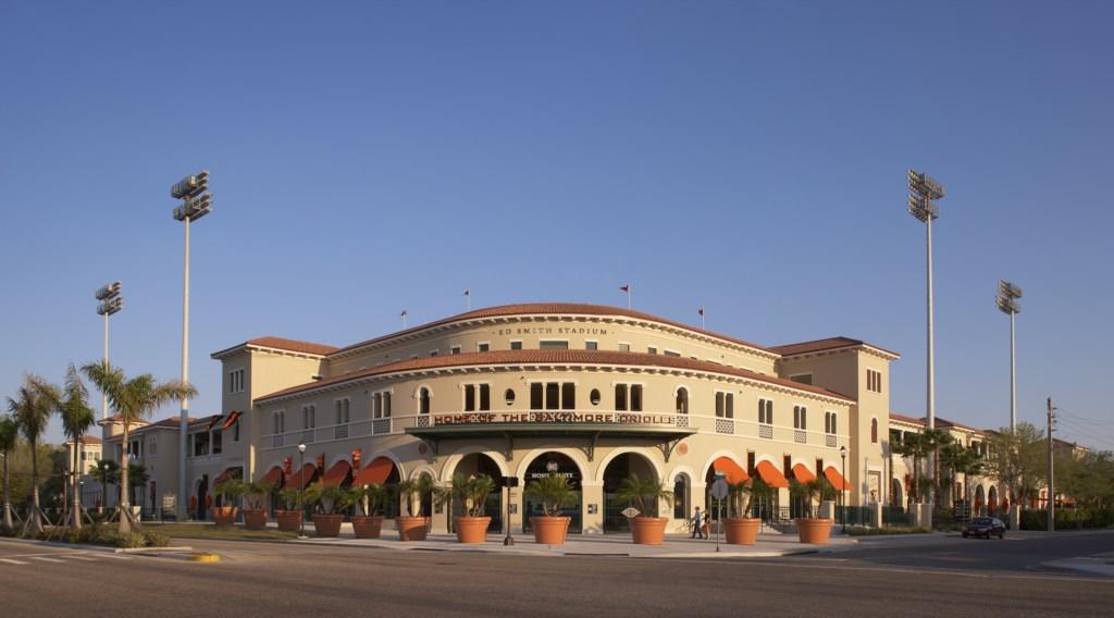 Ed Smith Stadium home of the Orioles!