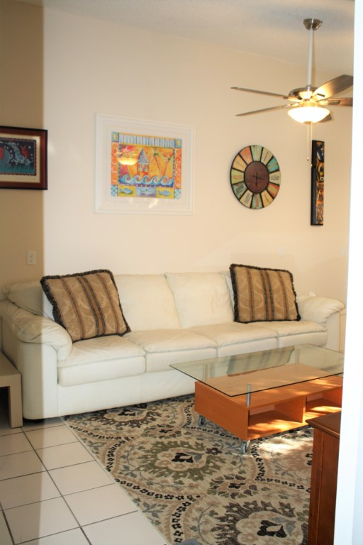 10 ft. couch/sofa for your relaxing pleasure in the livingroom.