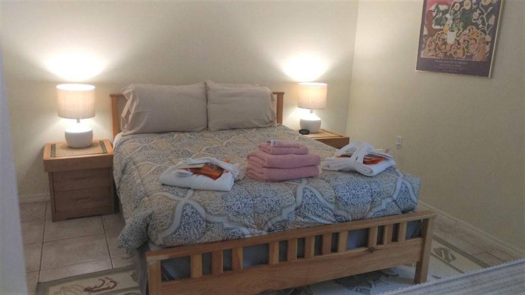 Comfy Queen Bedroom