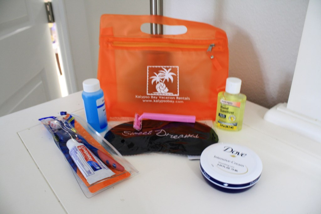 Complimentary Toiletry Bag.