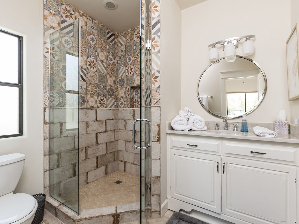 4th Bathroom with large walk in shower