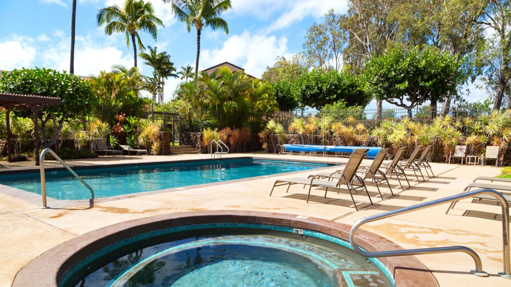 Condo Complex Pool and Hot Tub
