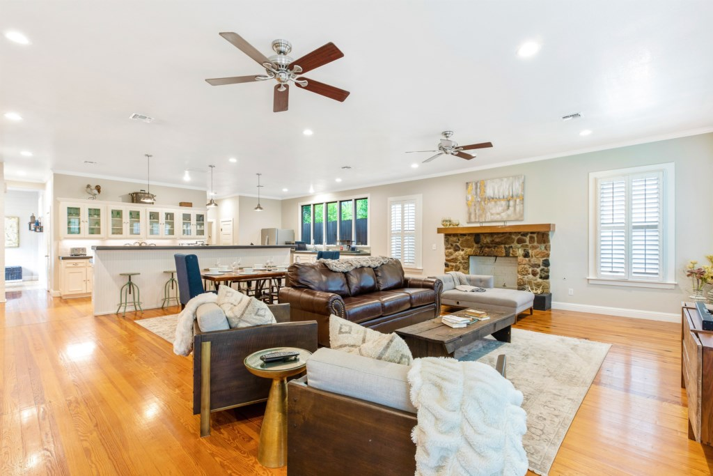 Create long-lasting memories in our home while exploring Fredericksburg.