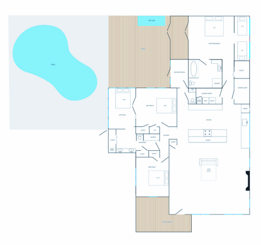 Our property's floor plan.