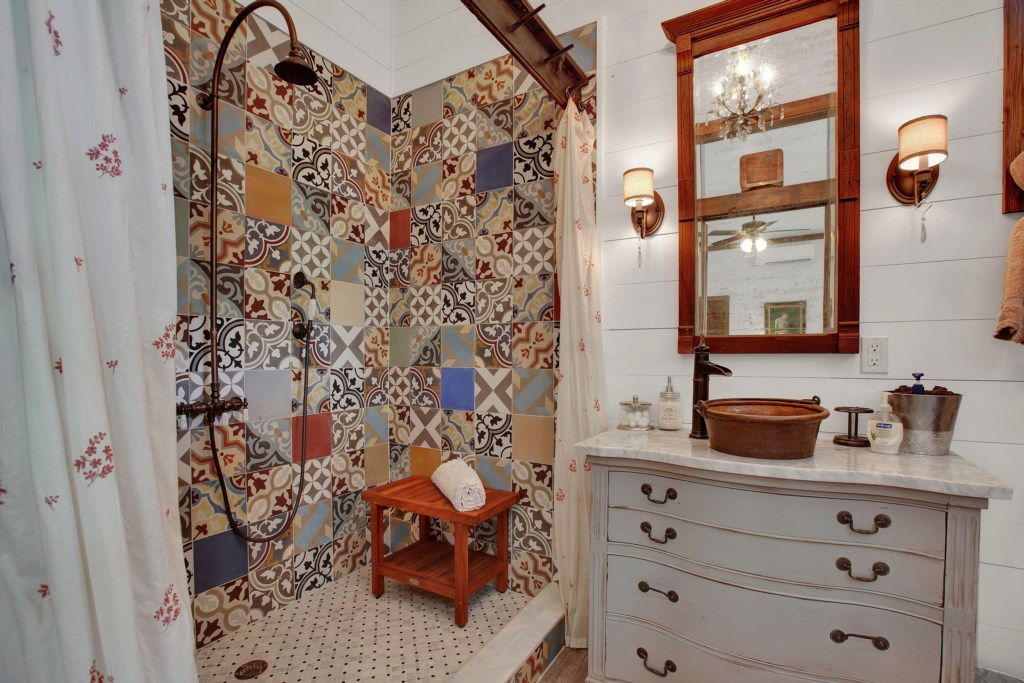 Back House Guest Bathroom 1
