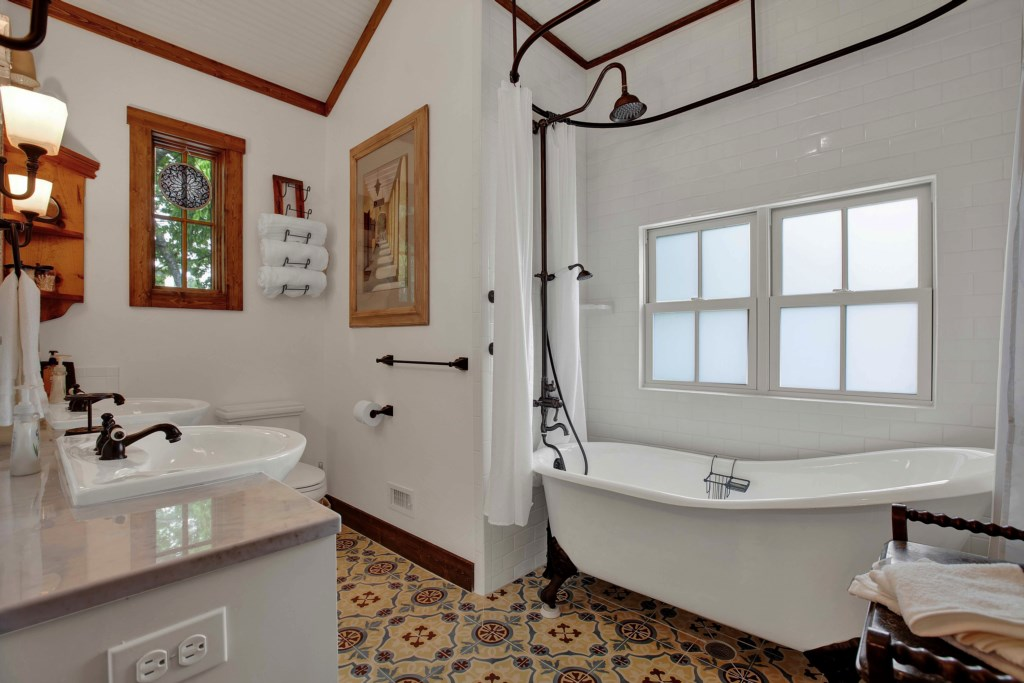 Back House Master Bathroom