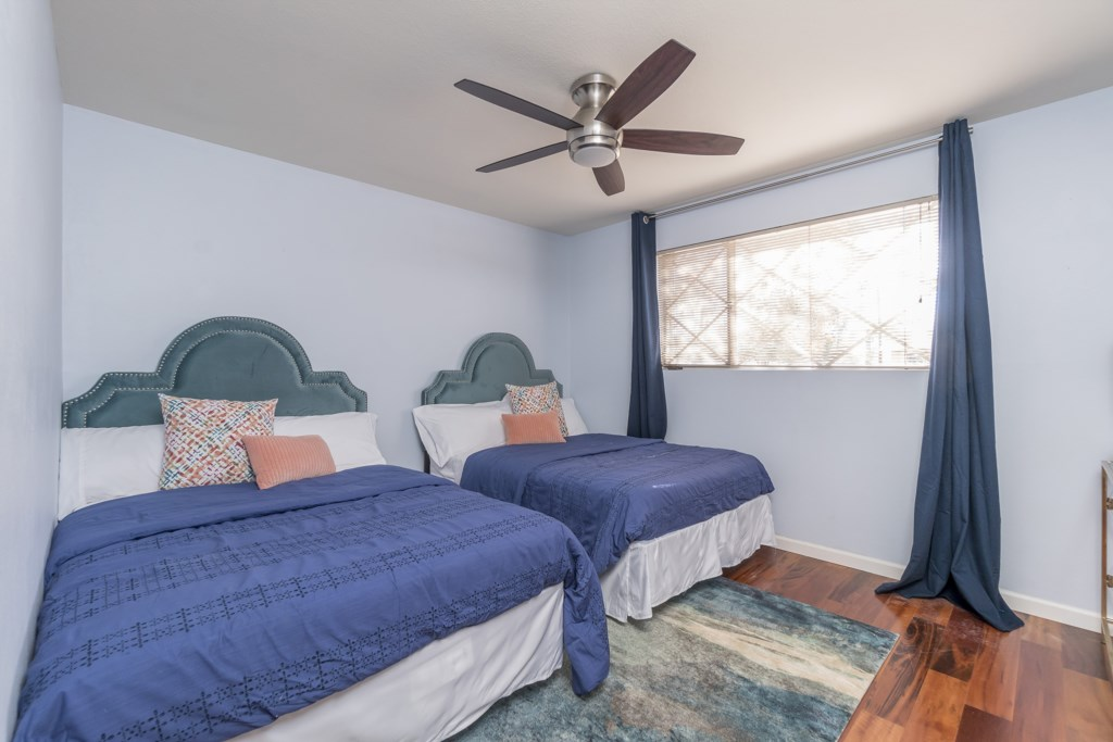 2nd Bedroom with 2 Queen Beds
