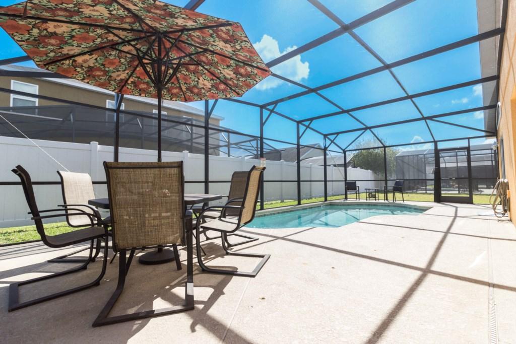 VERANDA PALMS 2509DC- 4 Bedrooms-3 Bath-9 Guests